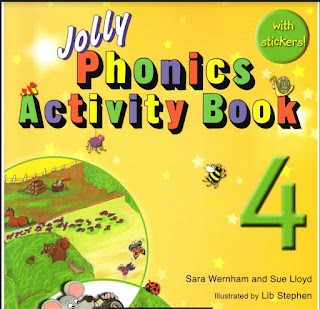 كتاب Jolly Phonics Activity Book في اللغة الانجليزية للصف الرابع الفصل الثاني