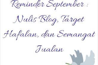Reminder Semangat September