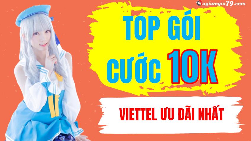 Đăng ký 4G Viettel 1 ngày 10k