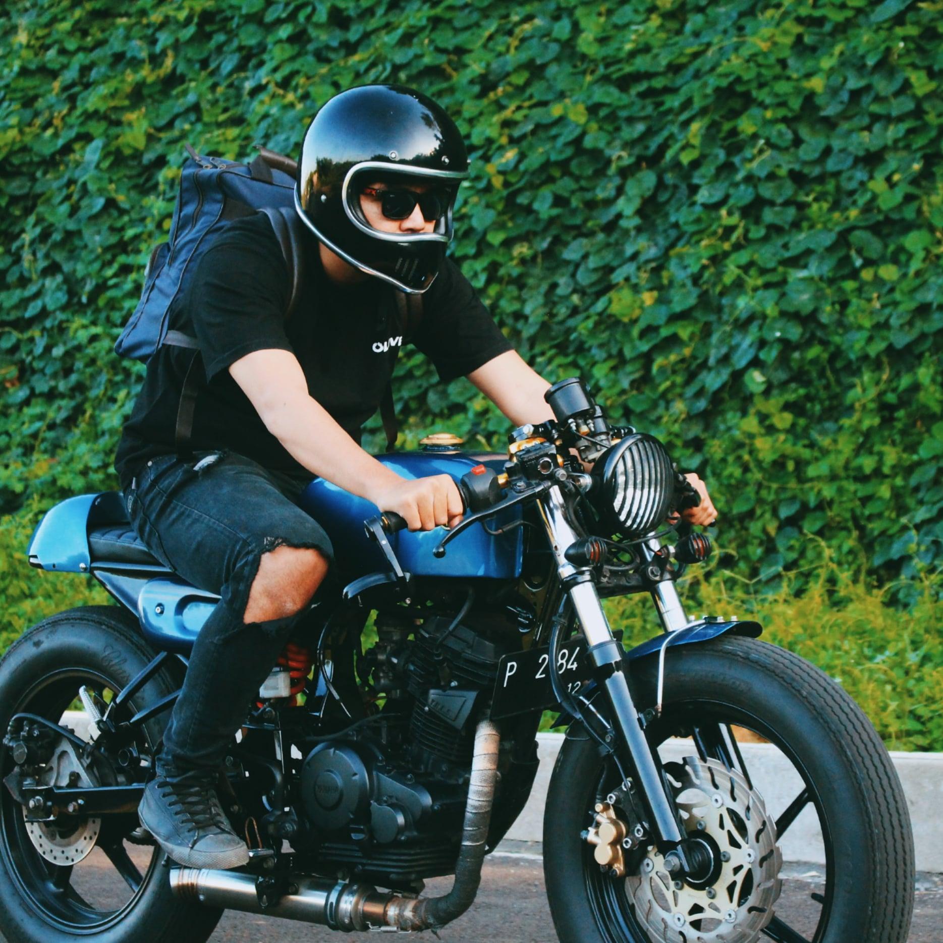 motor custom basic yamaha byson