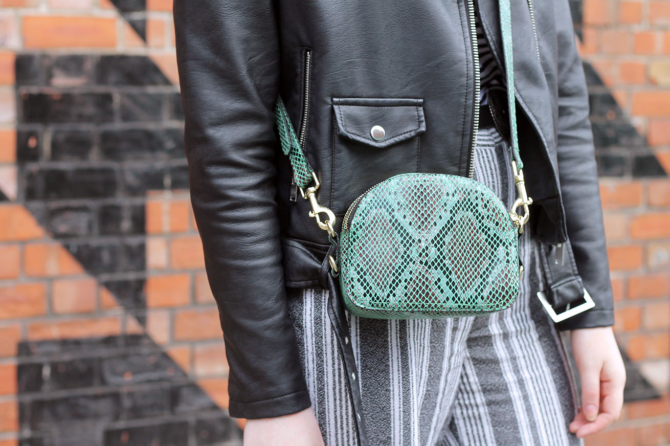 snake print cross body bag accessorize ss17