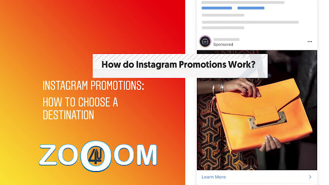 How to promote your posts on Instagram and choose your destination