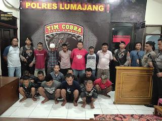 Dalam 1 Bulan, 14 Orang Ditangkap Tim Cobra Karena Kasus Narkoba