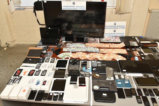 255 απάτες, εκβιάσεις, πλαστογραφίες και κλοπές στο ενεργητικό των εγκληματικών οργανώσεων που εξαρθρώθηκαν στη Νέα Κίο  (βίντεο)