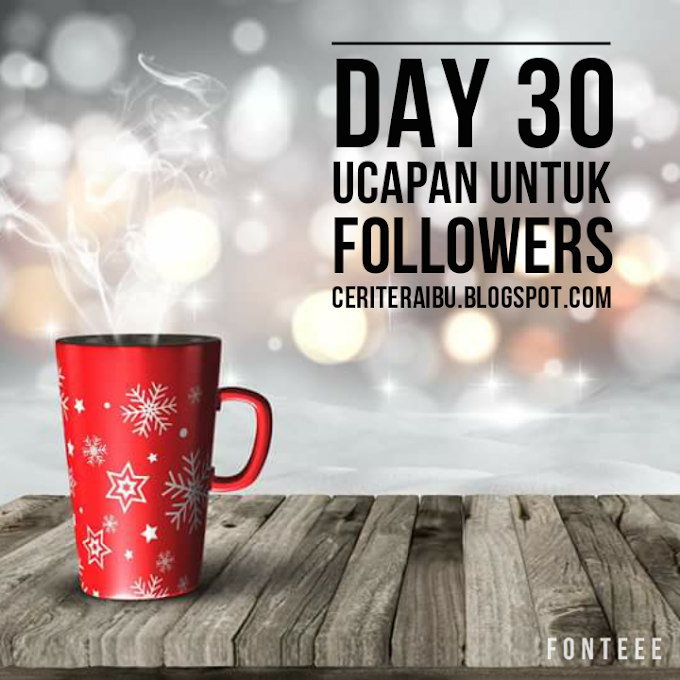31 Days Challenge by JDT Blogger - Day 30