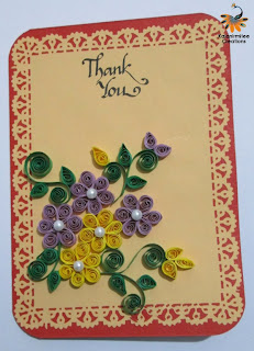 kalanirmitee: quilling for kids-quilled flowers-cards