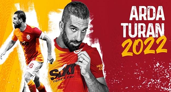Galatasaray, Arda Turan ile Sozleşmesini uzattı