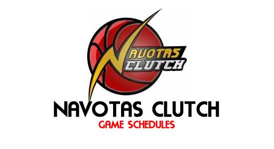 LIST: Game Schedule Navotas Clutch 2018 MPBL Anta Datu Cup