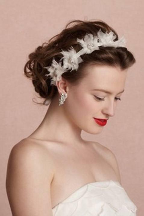aqu las mejores imgenes de elegantes peinados de novia con pelo largo como fuente de inspiracin