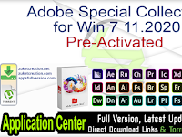 Download Adobe Special Collection 11.2020 Full Version Free