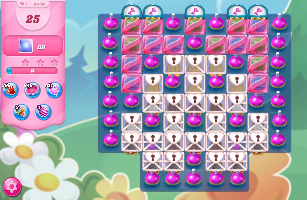 Candy Crush Saga level 8580