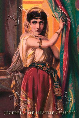 Jezebel was a Phoenician princess.