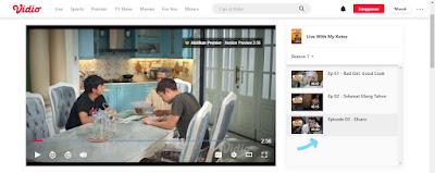 Link Streaming Nonton Live With My Ketos Episode 4 di Vidio Full HD Film Zara Adhisty, Rangga Cemburu Al dan El Mesra