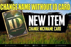 How To Change Name In Pubg Mobile Without Card