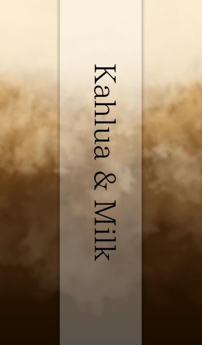 Kahlua & Milk