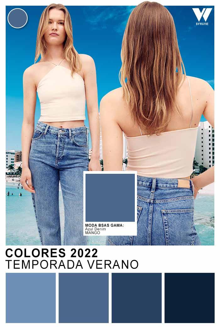 colores azules de moda primavera verano 2022