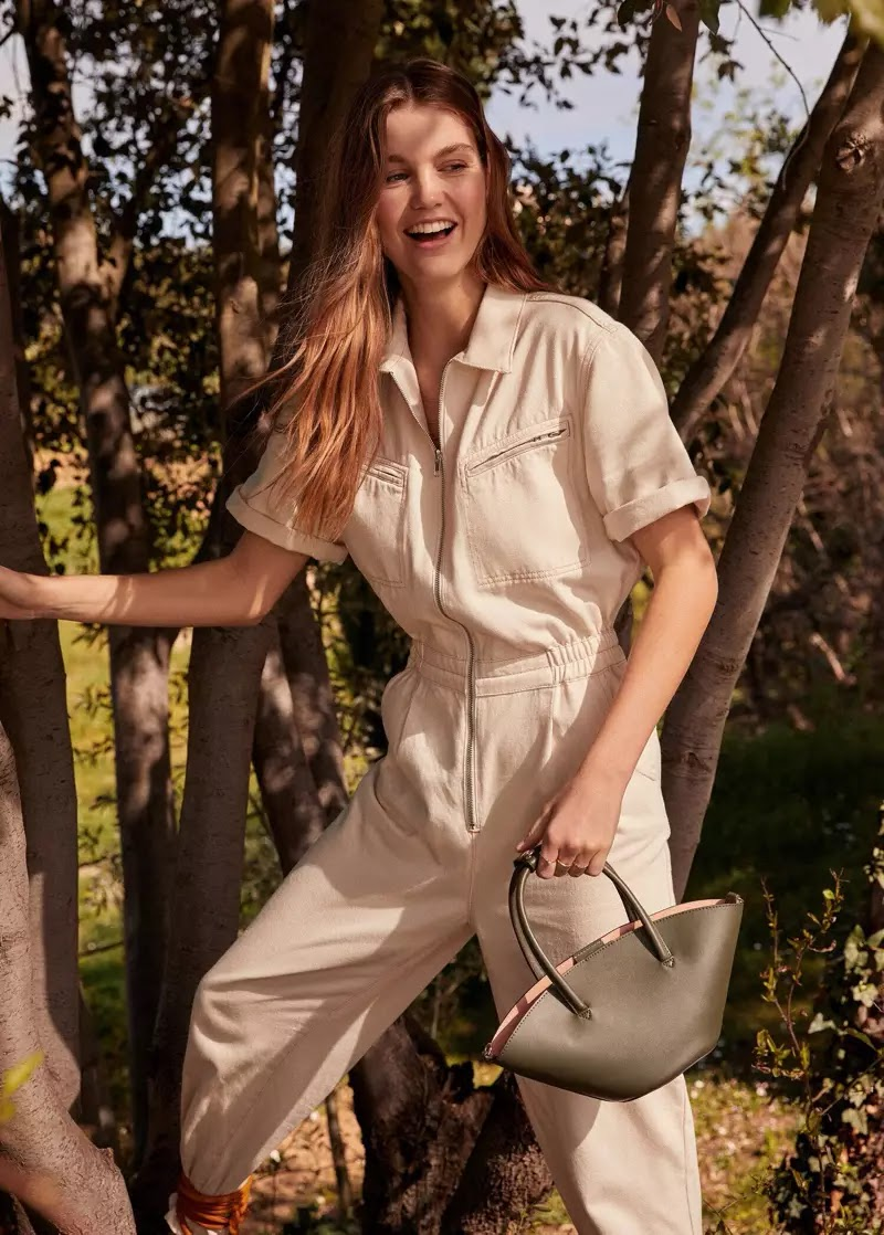 Mango unveils Romantic Vibe spring-summer 2020 lookbook