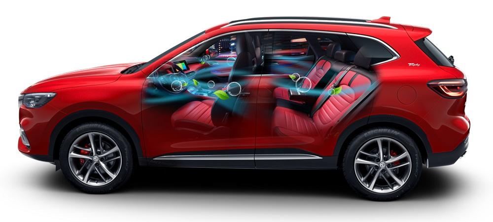 MG trang bị tính năng lọc bụi mịn PM 2.5 trên 2 dòng xe HS và ZS