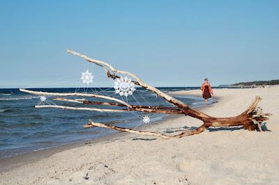 Crochet  en la playa