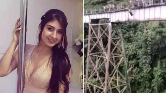 jovem advogada morre pular bungee jumping