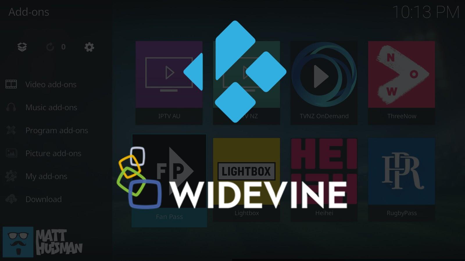 Kodi Widevine Support