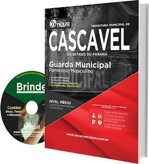 Apostila Concurso Guarda Municipal de Cascavel 2016.