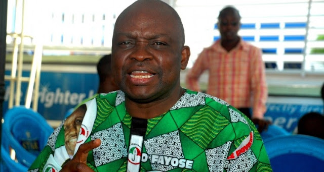 Ekiti 2018 election: Fayose says he may dump PDP