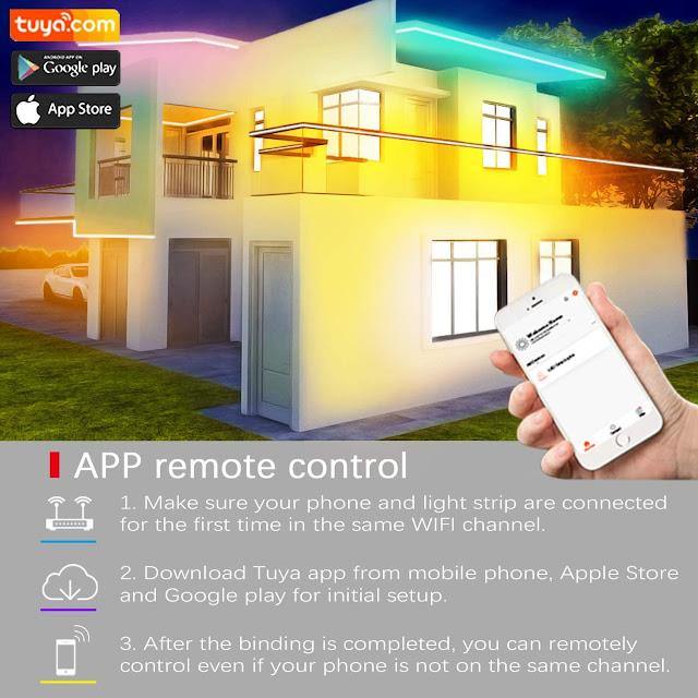 Cozylady Alexa LED Strip Light for Your Smart Home