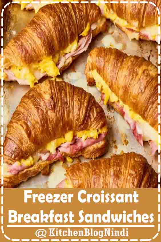 4.9★★★★★ | I love eating delicious food or desserts. Anything that tastes good. If I see food and I don't like how the food looks, I won't eat it. #healthy #recipes #lunch #college #students #FreezerCroissant #Breakfast #Sandwiches