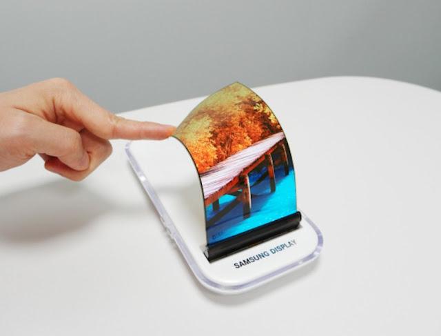 ponsel layar lipat samsung galaxy x