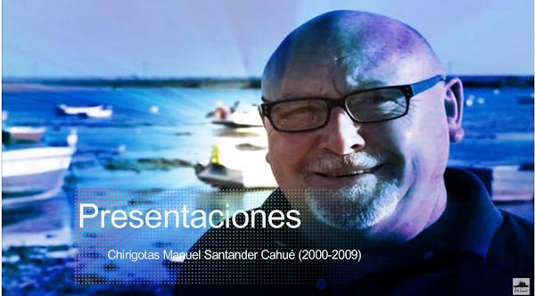 Las Presentaciones de las Chirigotas de Manolo Santander Cahué de la decada del 2000 (2000-2008)