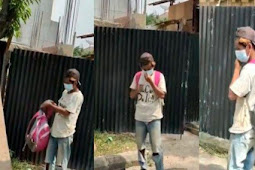 Dipecat Karena Tak Pakai Masker, Orangtua Kuli Bangunan ini Cuman Tukang Becak Rumahnya Masih Menggunakan Bilik Bambu
