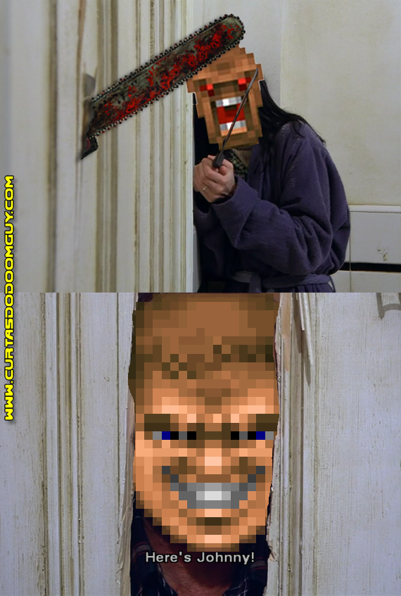 The Shining versão Doomguy