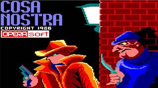Videojuego Cosa Nostra - Opera Soft