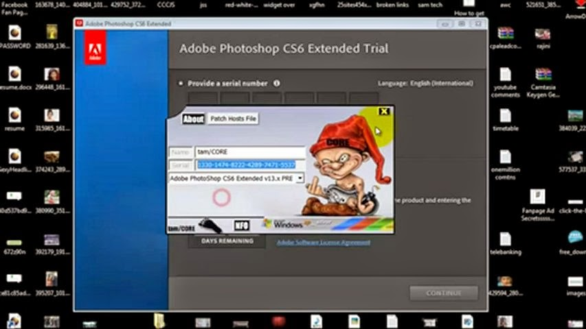 Adobe photoshop cs6 extended serial number free download