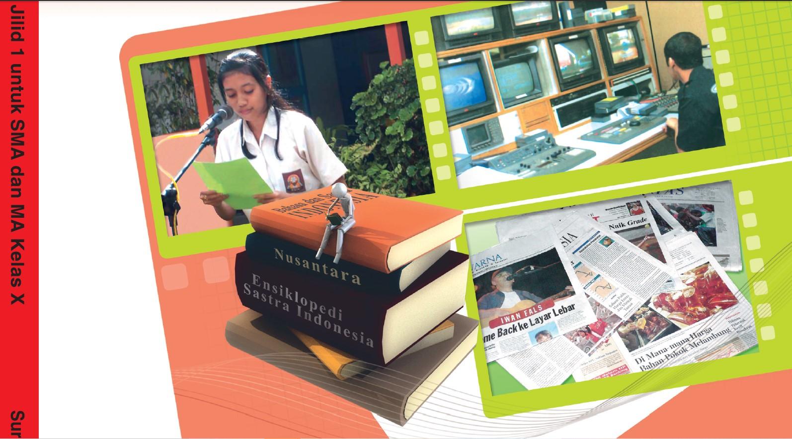 Download Buku Sekolah Elektronik (BSE) Untuk Sekolah Menenengah Atas (SMA) Kelas 10 (Sepuluh)