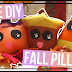 3 Cute DIY Fall No Sew Pillows