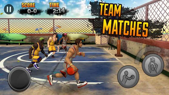 Game Basket Android Jam League
