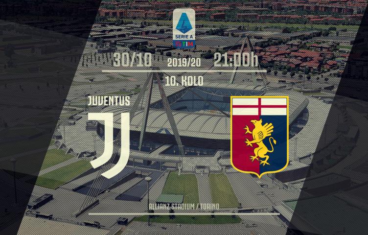 Serie A 2019/20 / 10. kolo / Juventus - Genoa, srijeda, 21:00h