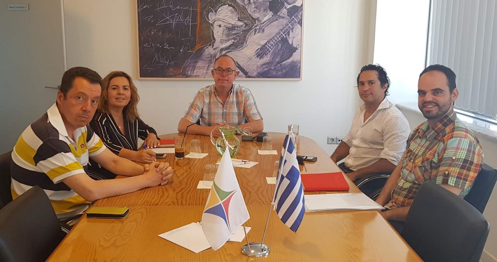 Συνάντηση της Διοίκησης του ΣΘΕΒ με τον πρόεδρο του Οικονομικού Επιμελητηρίου Θεσσαλίας