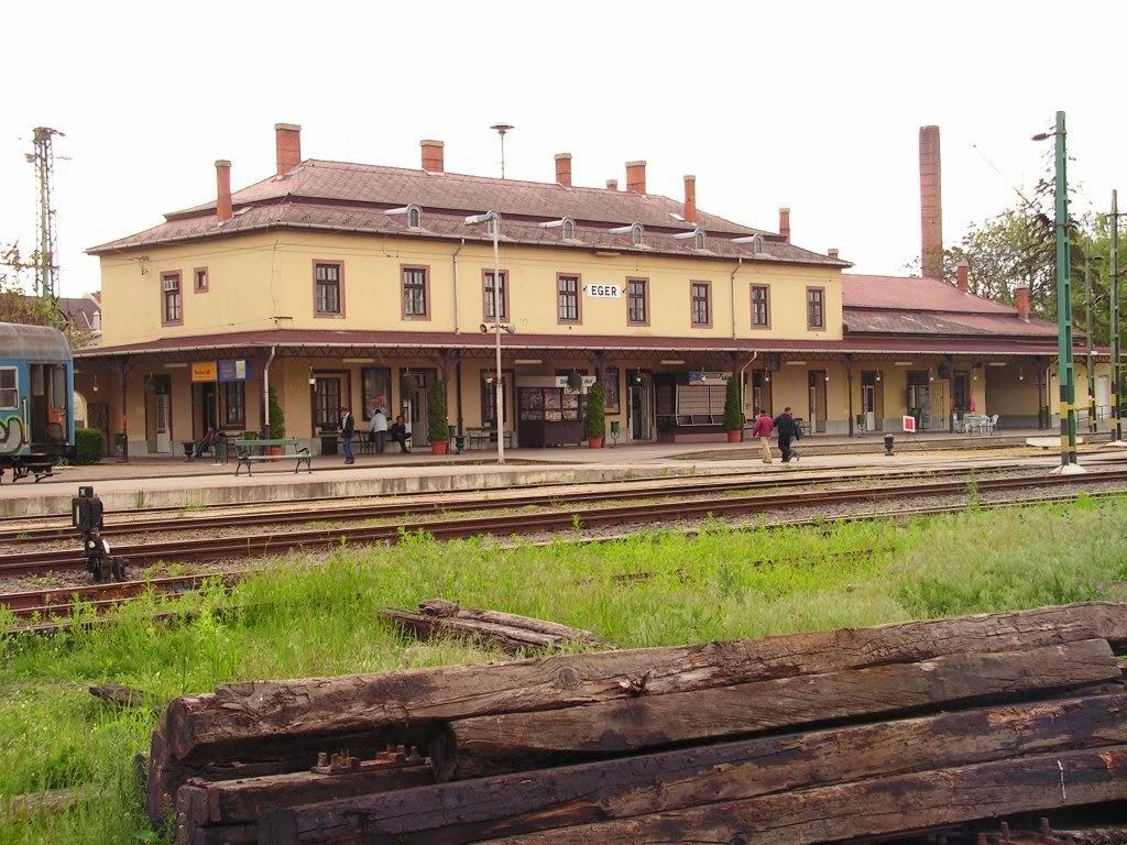 eger térkép vasútállomás Vasútállomás (Állomás tér)   Minden, ami Eger  eger térkép vasútállomás