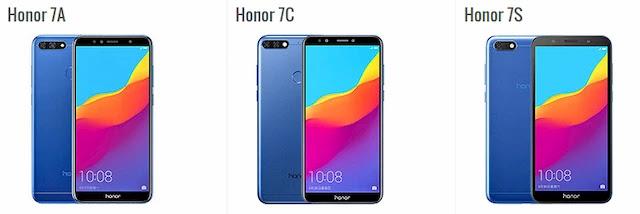 ما هو الفرق بين هاتف Honor 7a و Honor 7c ؟