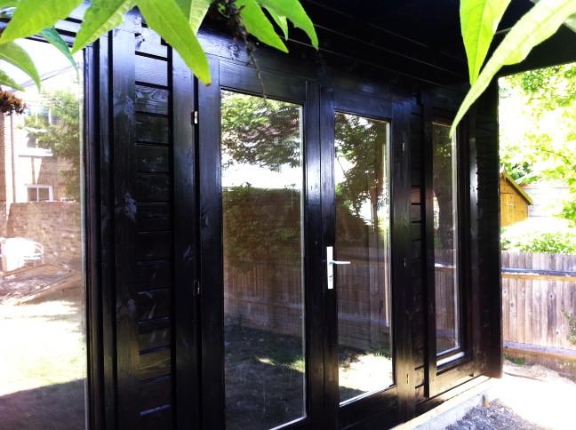 Cabin Living South West London Garden Office Installation
