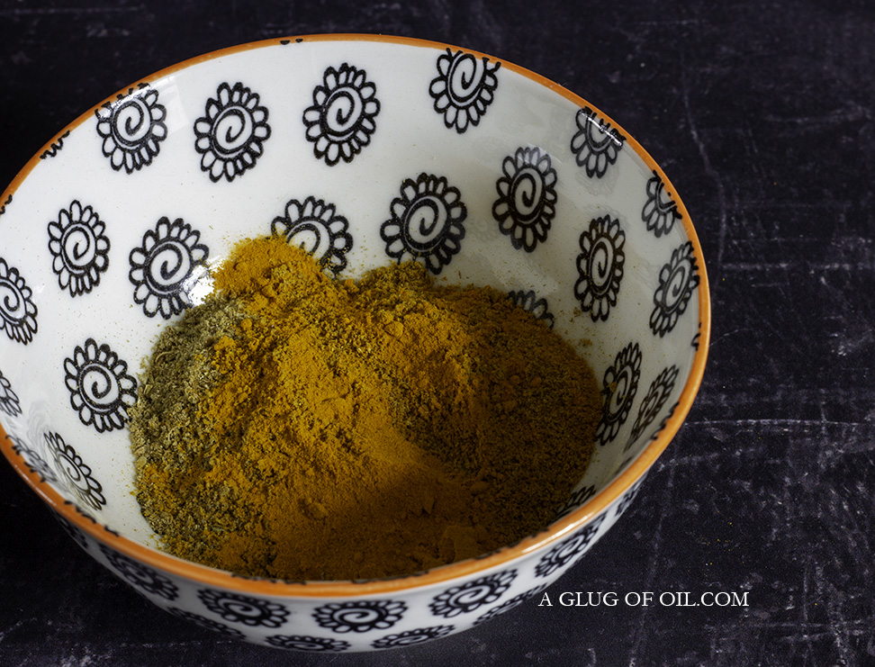 Ground spices for beef curry