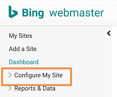 blog website ko bing me kaise submit kare, bing webmaster tools