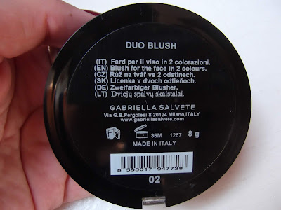 Duo Blush Gabriella Salvete