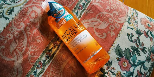Purbasari micellar water, cleanface micellar water