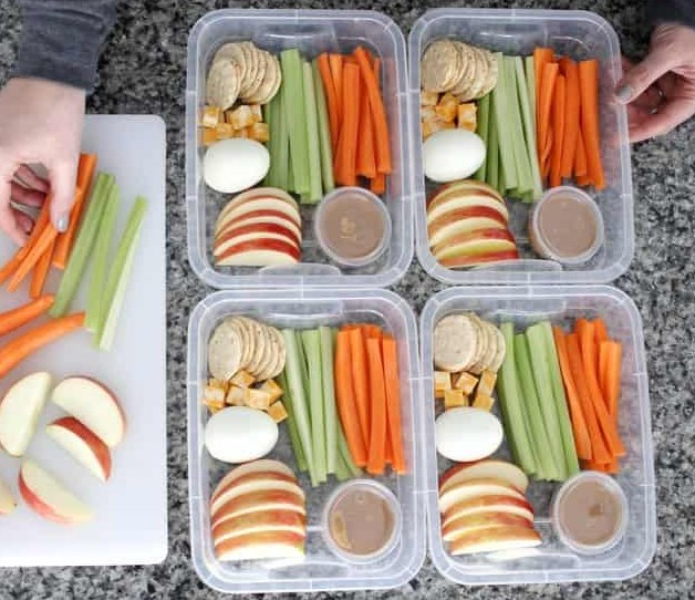 CLEAN EATS POWER SNACK BOX #healthy #lunch