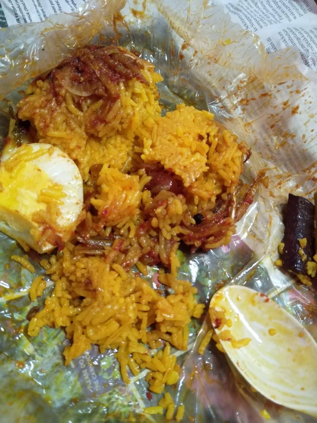 Namakucella Nasi Lemak Kuning Bungkus Surat Khabar