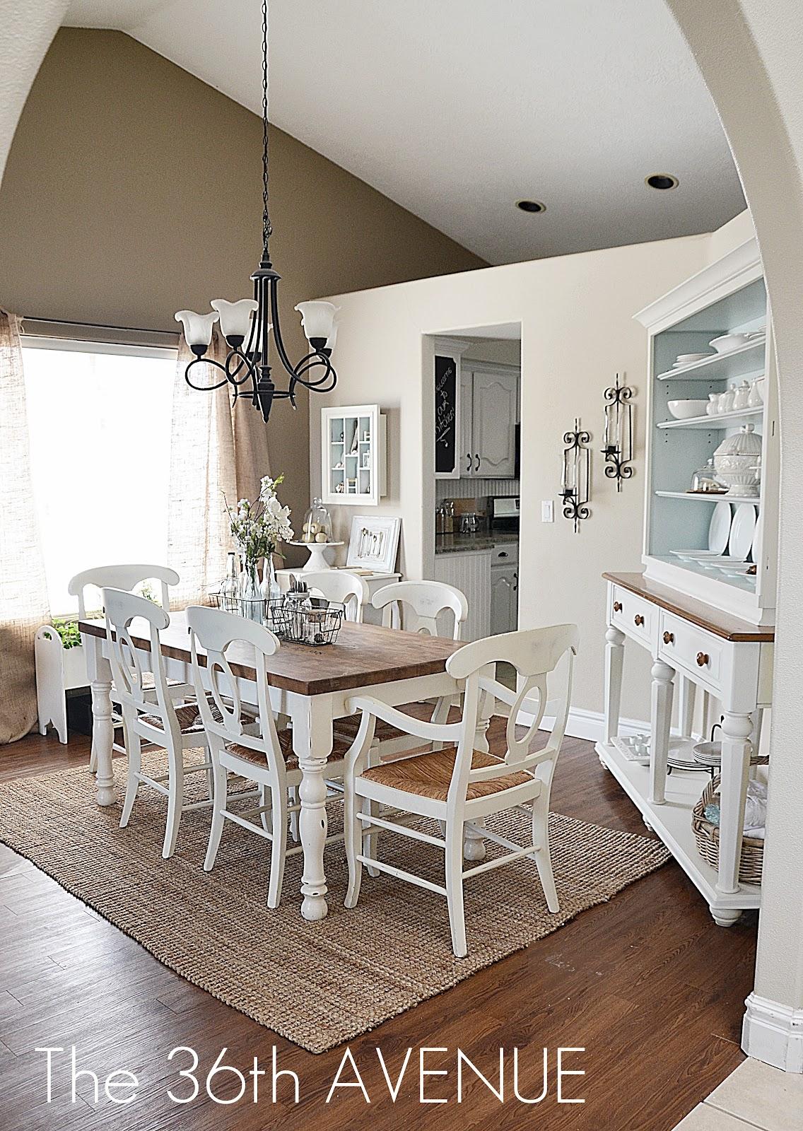 Home Decor DIY Projects - Farmhouse Design - The 36th AVENUE on Dining Room Curtains Farmhouse  id=85442